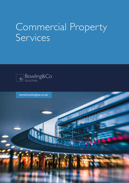 Commercial Property Law : Brochures bowling co solicitors