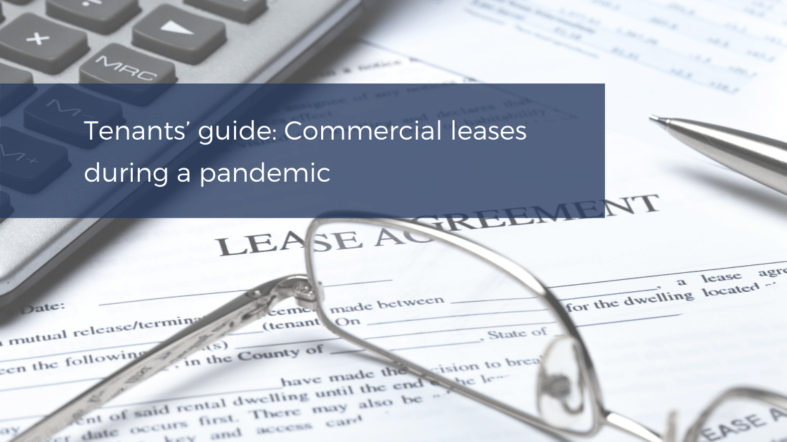 Commercial leases during a pandemic
