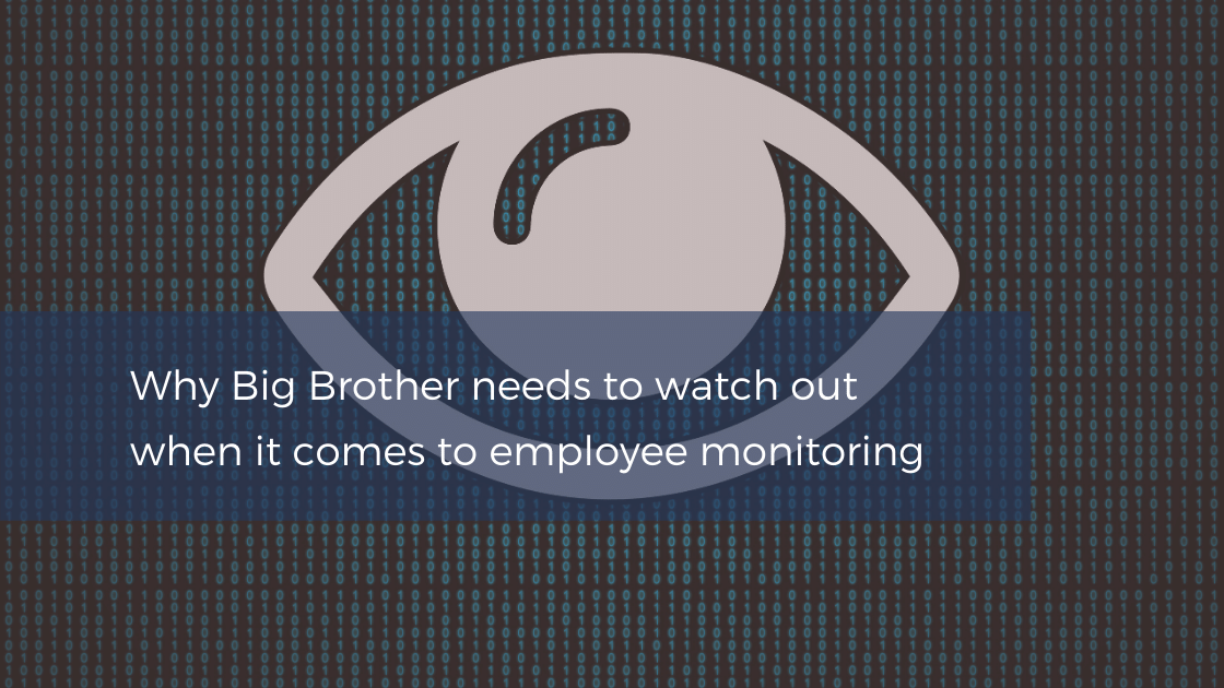 Employee monitoring and breaching data protection