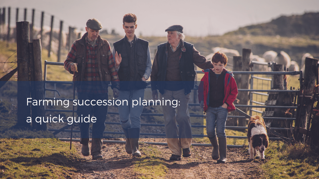 Farming sussession planning