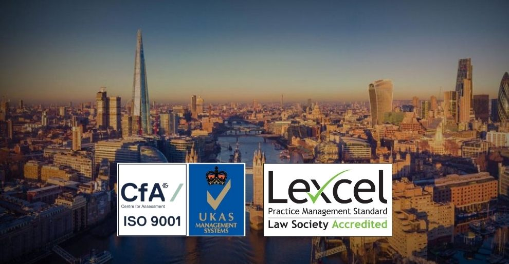 ISO-9001 And Lexcel Quality Marks Triumph