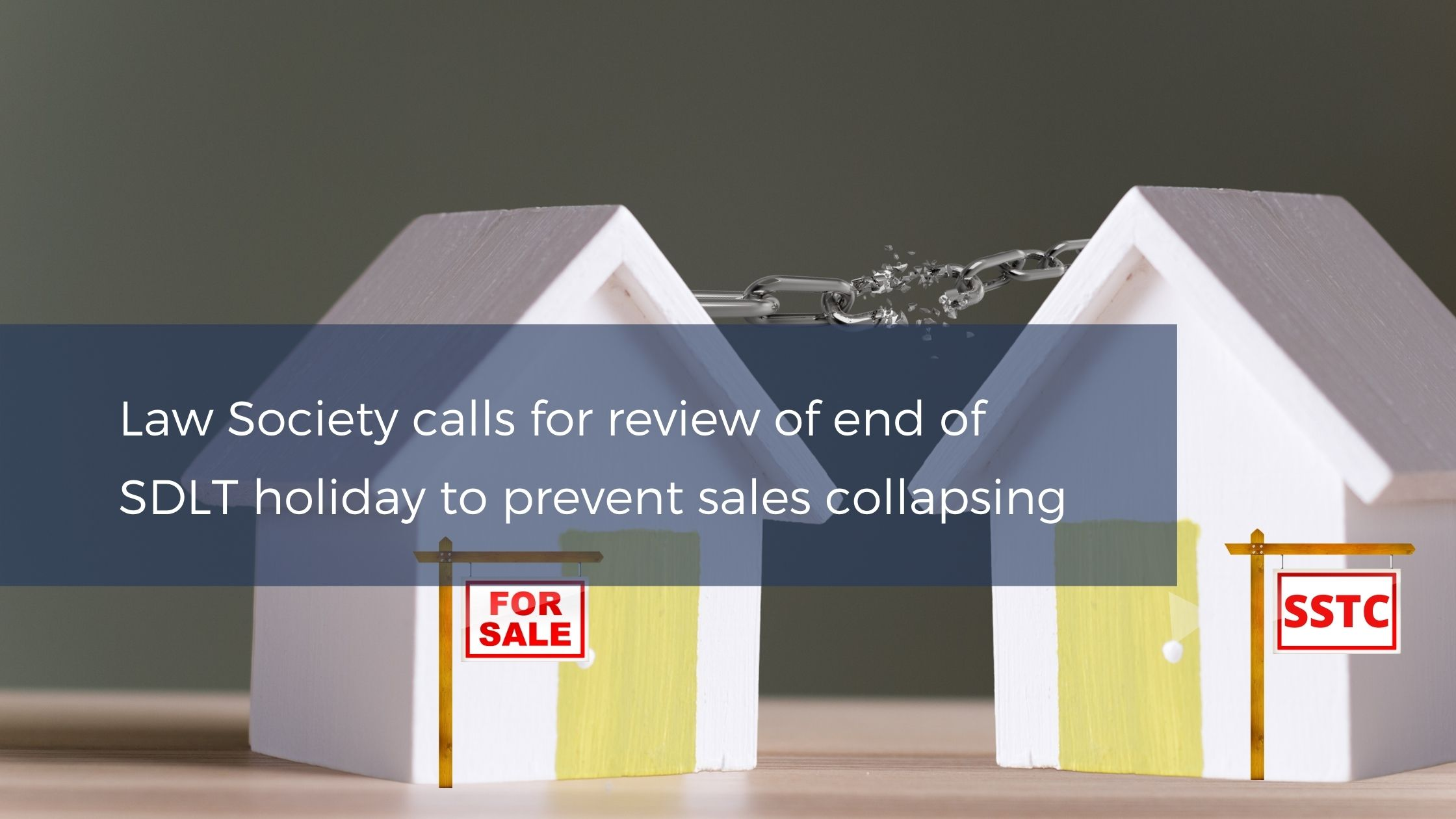 Stamp Duty Land Tax holiday extension to prevent sales collapsing